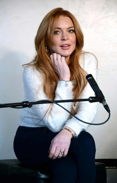 Lindsay Lohan gave an interview to Radio Show