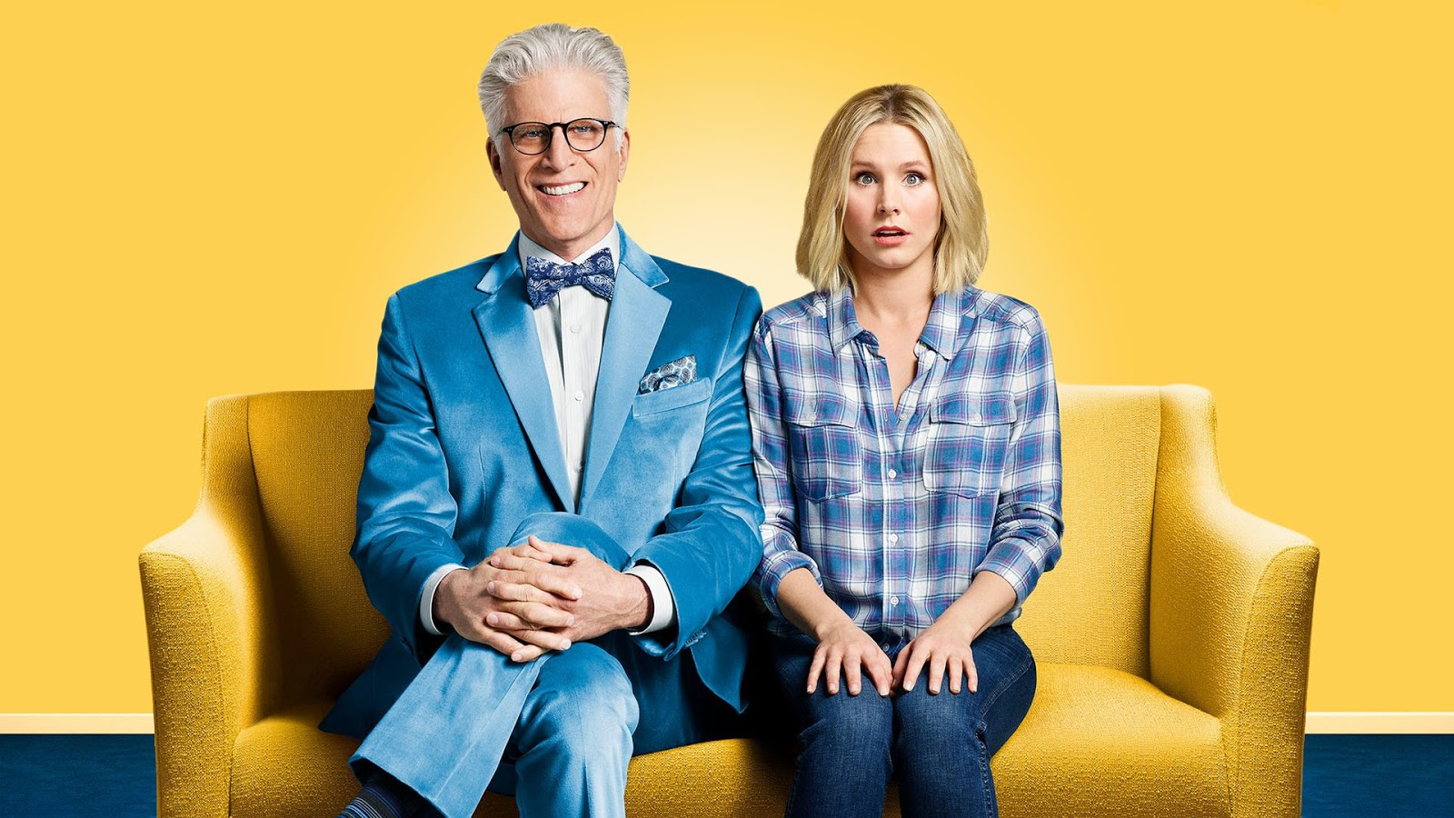 the good place ted danson serie kristen bell