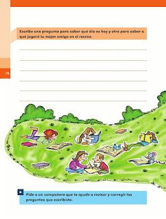 Apoyo Primaria Español 1er grado Bimestre 2 lección 20 Los signos de interrogación