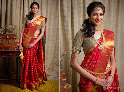 Indian-pattu-blouse-designs-for-silk-sarees-2017-for-women-5