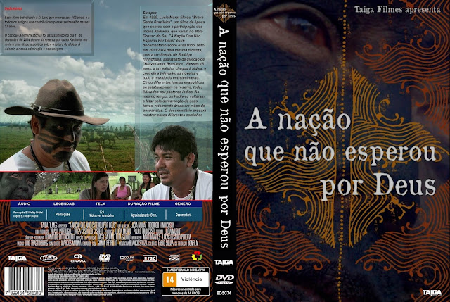 Capa DVD A Nação Que Não Esperou Por Deus