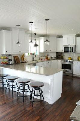 Desain Interior Dapur Minimalis Bentuk U