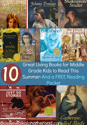 Middle grade summer reading lsit