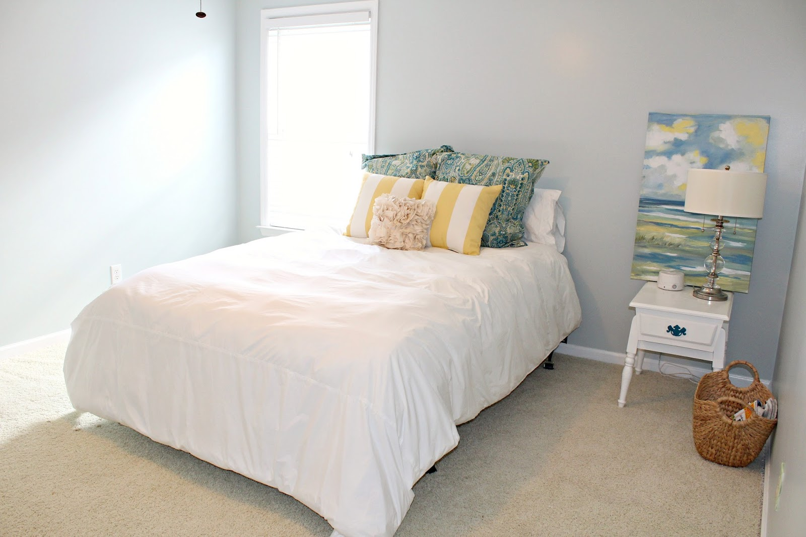 Install Tv Above Fireplace Wiring Gas Carolina On My Mind Guest Bedroom Makeover Part 1 New Brick Outlet