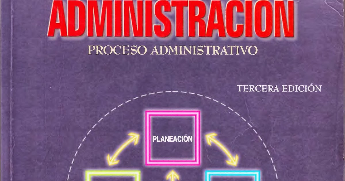 Librotecarios: Administración Proceso administrativo
