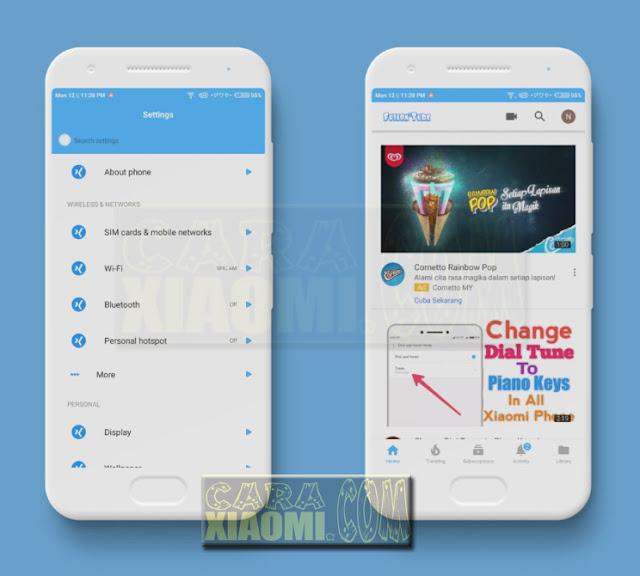 Download Link MIUI Theme Fusion Flat Final Mtz For Xiaomi Redmi By Mujahid Saifullah