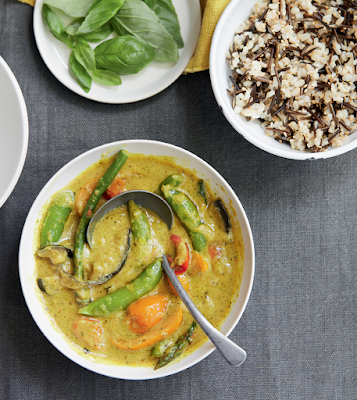 Thai Yellow Curry with Jasmine Brown Rice