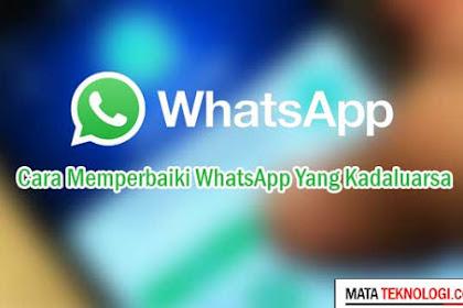 Cara Memperbaiki Whatsapp Yang Kadaluarsa Tanpa Ribet