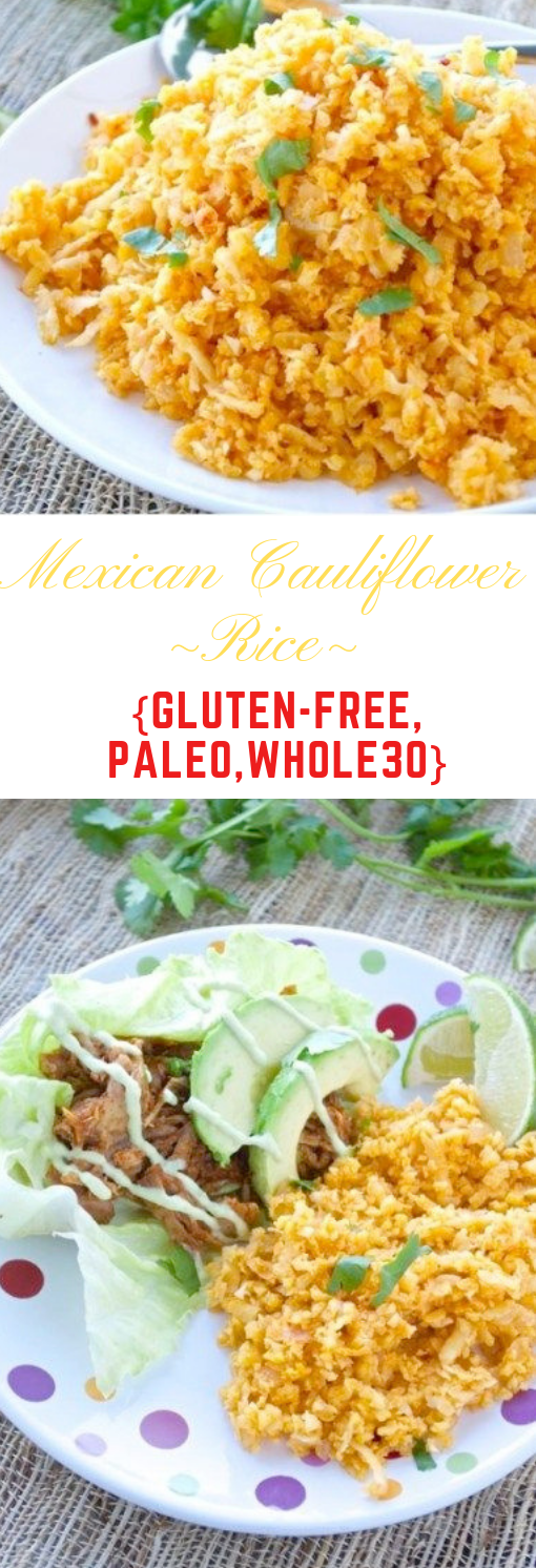 "Mexican Cauliflower ""Rice"" #eating #lunch"
