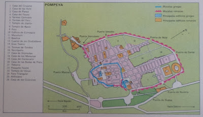 Las ruinas de Pompeya. La Ciudad de Pompeya. Turismo en Pompeya. Italia. Turismo en Italia