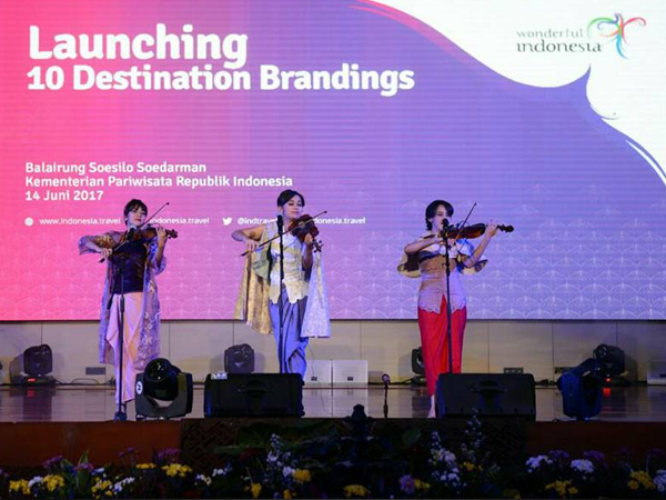Launching 10 Branding Destinasi Wisata Kemenpar
