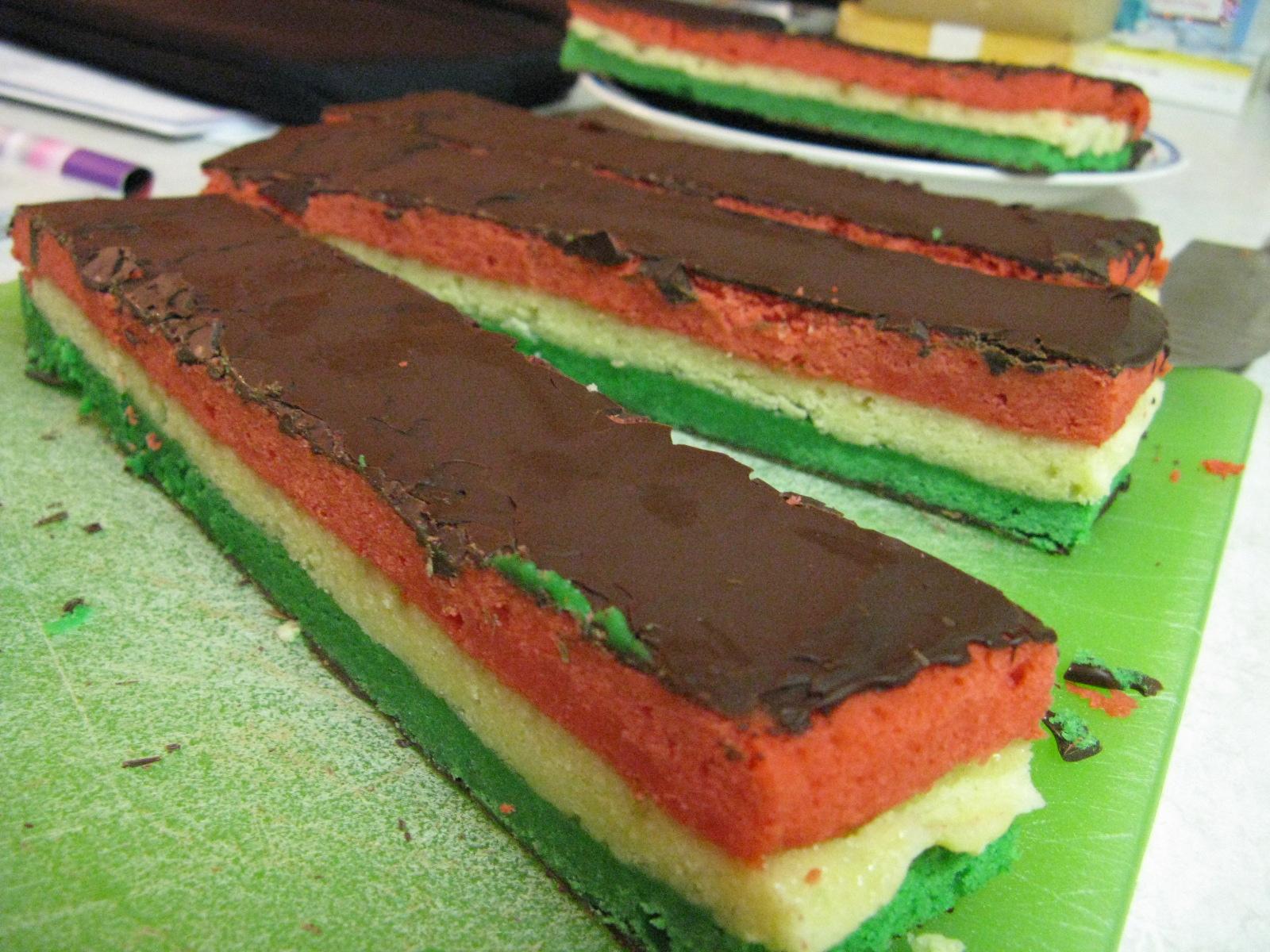 Rainbow Cake Recipe Italian: The Shortcakery: Italian Rainbow Cookies