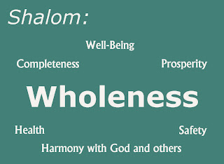 Image result for shalom wholeness