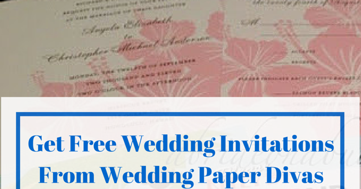 Wedding Diva Invitations: Get Free Wedding Invitation Samples From Wedding Paper