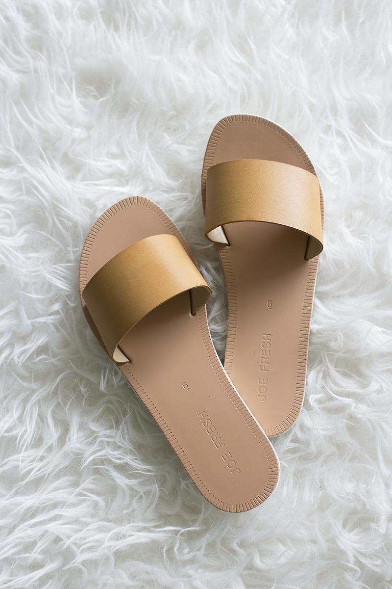 Slip on sandals for summer
