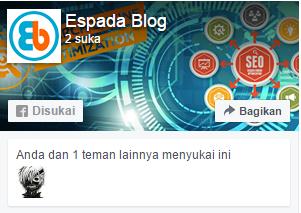 Cara Memasang Like Box Fanspage Facebook di Blog 11