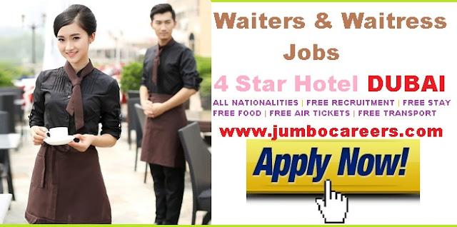 latest 4 star hotel jobs dubai, hotel management job dubai
