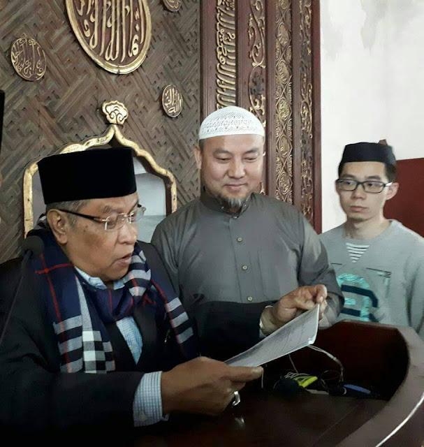 KH. Said Aqil Siraj dan Imam masjid Phoenix, Syaikh Maksum