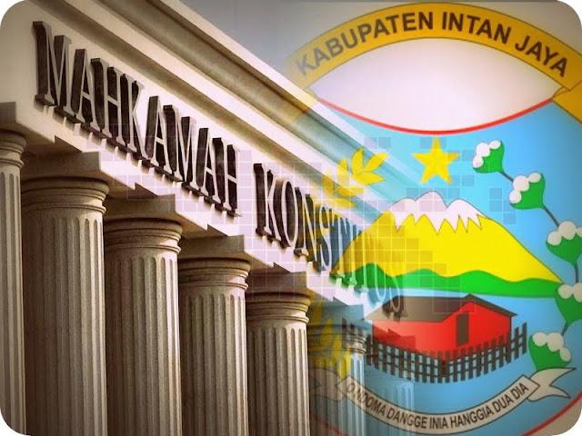 Penetapan Rekapitulasi Hasil Penghitungan Perolehan Suara Kabupaten Intan Jaya Belum Diputuskan