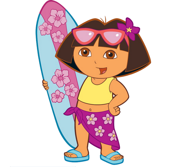 cartoon characters dora the explorer  png photos hula clip art free printables clipart hula dancer