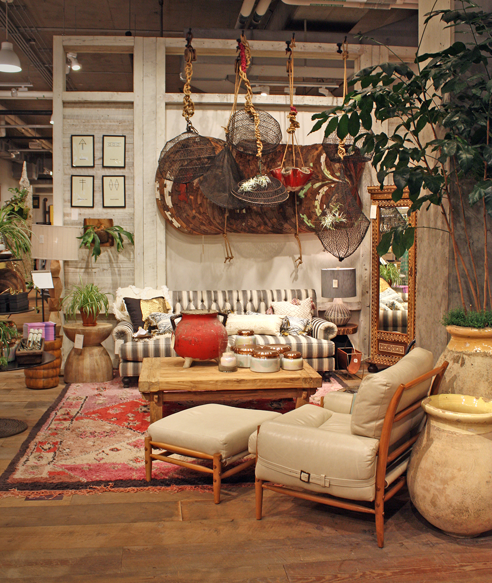 Anthropologie living room - More