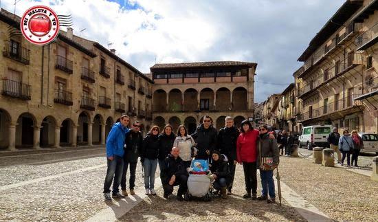 #GlobellersRural en la Plaza Mayor de Sigüenza