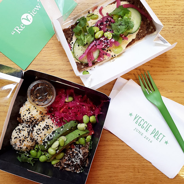 veggie pret soho london