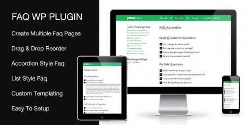 Accordion FAQ WordPress Plugin v2.1.0