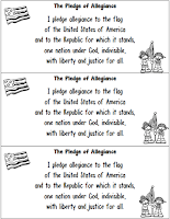 Pledge or allegiance freebie