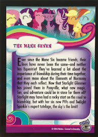 My Little Pony The Mane Seven Series 4 Trading Card