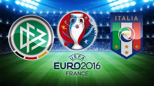 Alemanha x Itália - Euro 2016 - Prognóstico, Horário e TV