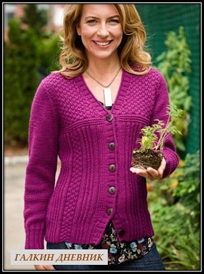 kak-vyazat-jaket-spicami | strikking | بافندگی | dzianie | tricô | tricotare | การถัก