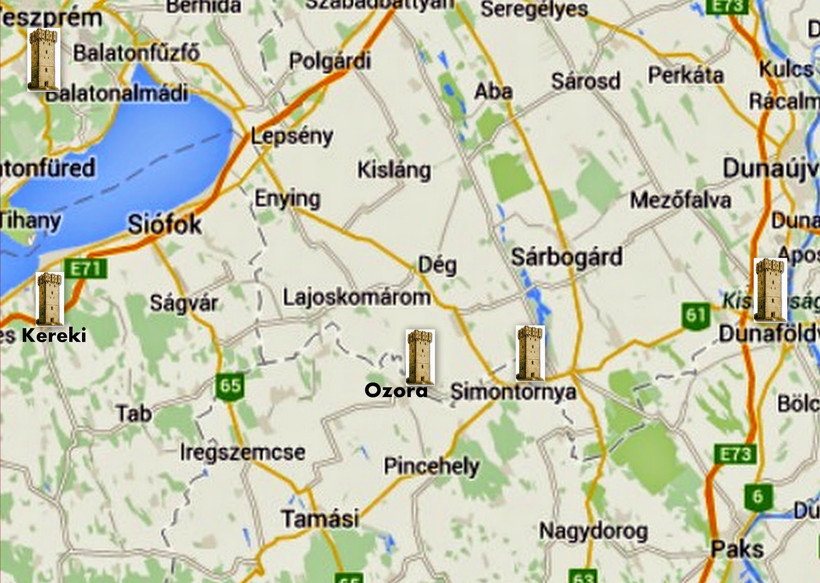 simontornya térkép Denever: 2015.03.01. simontornya térkép