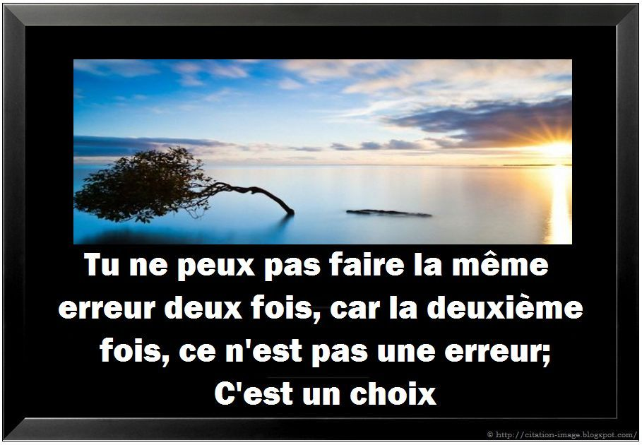 citation en image sur : chance , citation conseil , citation pensée
