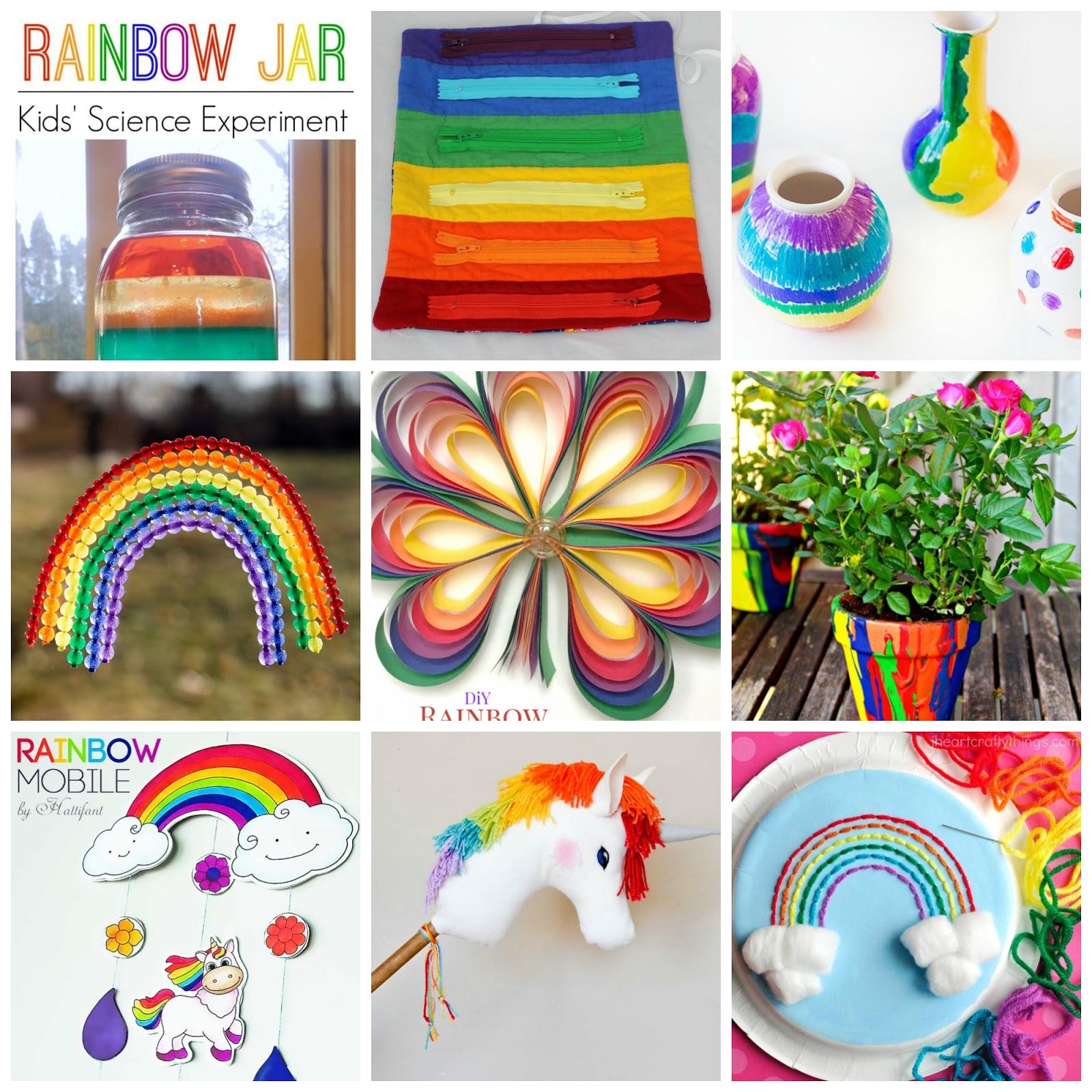 15+ Happy Rainbow Crafts
