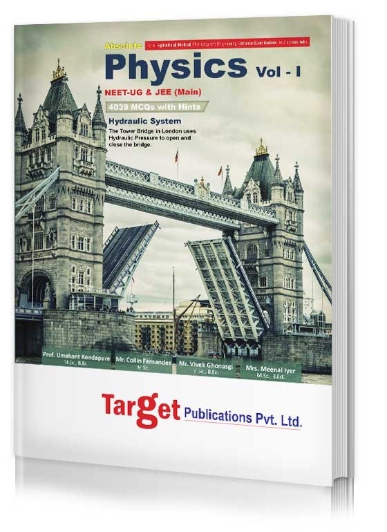 PHYSICS VOL-1 Material By Target Publication for NEET & JEE