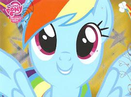 My Little Pony Rainbow Dash Series 2 Trading Card