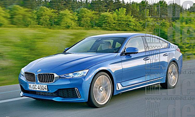 2020 BMW 4 Series Gran Coupe Rendered