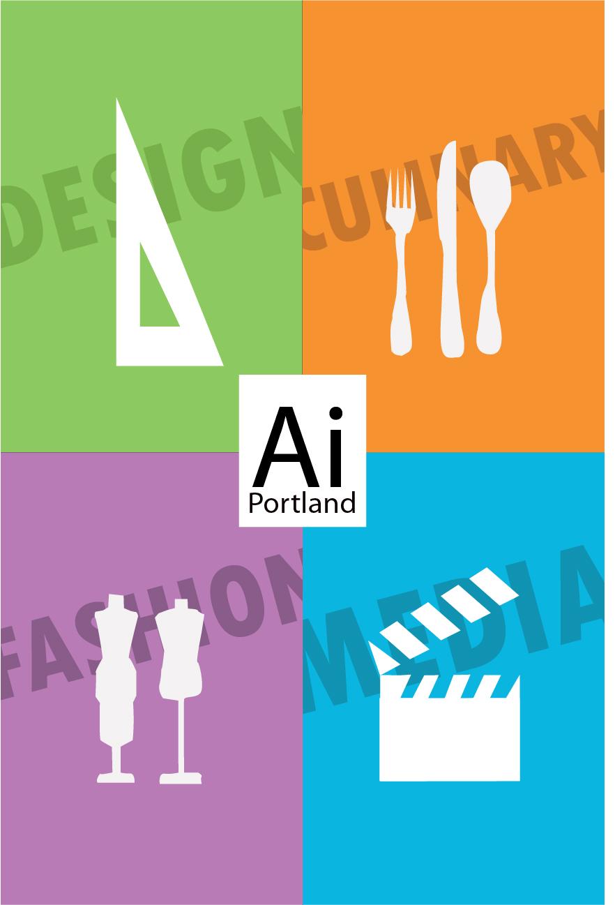 colin s graphic design art institute of portland modernist poster