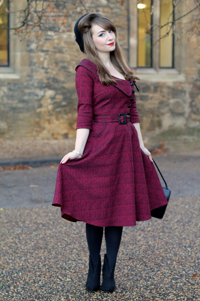 Voodoo Vixen Lilly dress in burgundy review