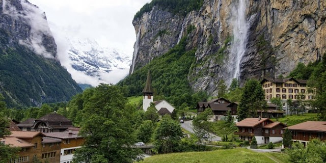Lembah Lauterbrunnen - Swiss