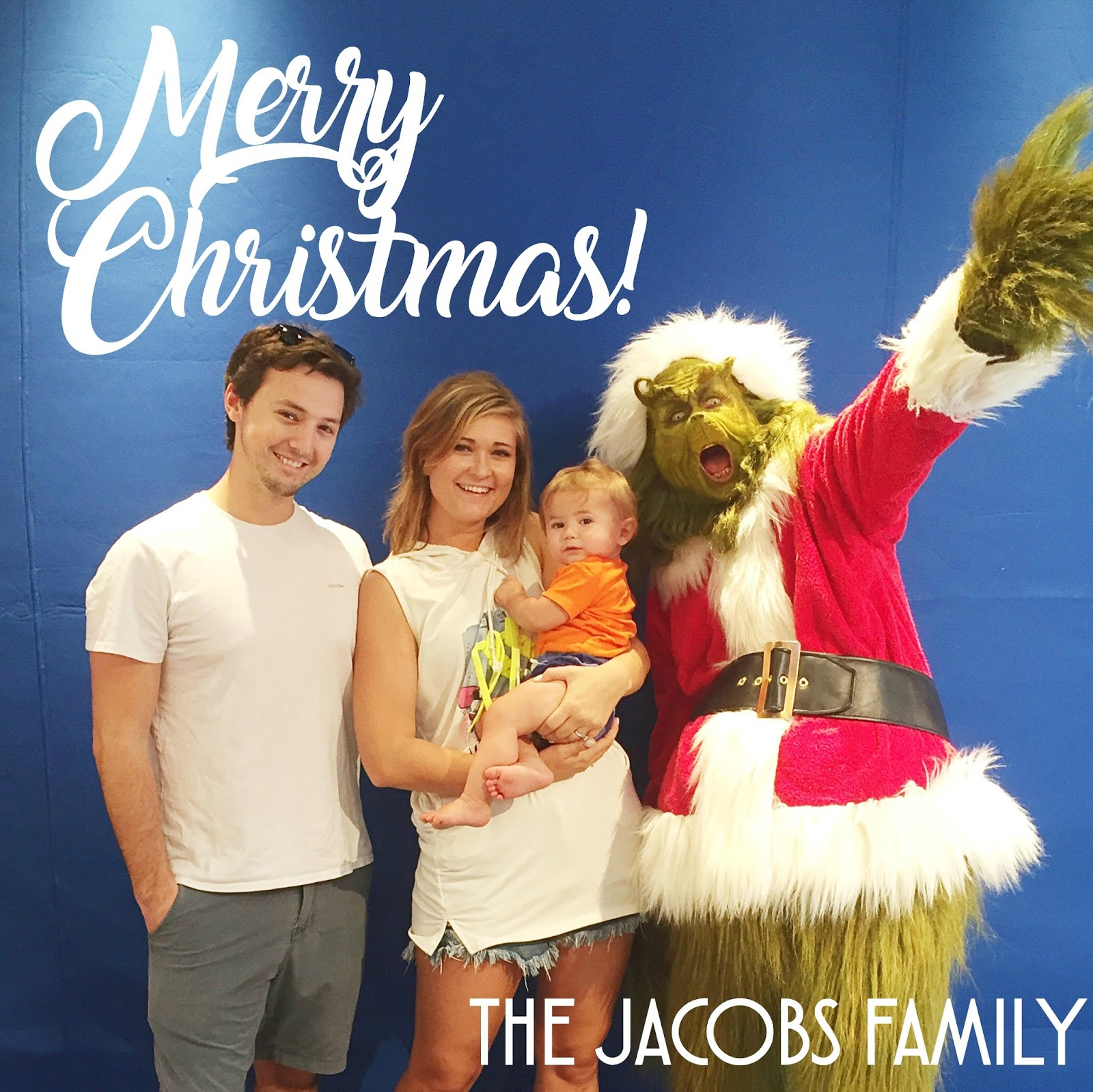 A Virtual Christmas Card: Merry Christmas From The Jacobs Family ...
