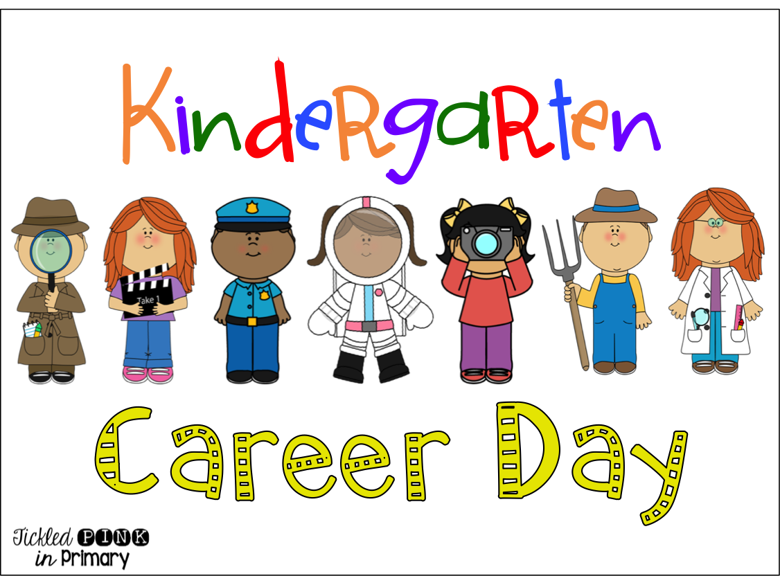 Kindergarten Career Day With A Freebie Tickled Pink In