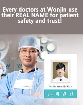 Dokter terpercaya di Wonjin Plastic Surgery