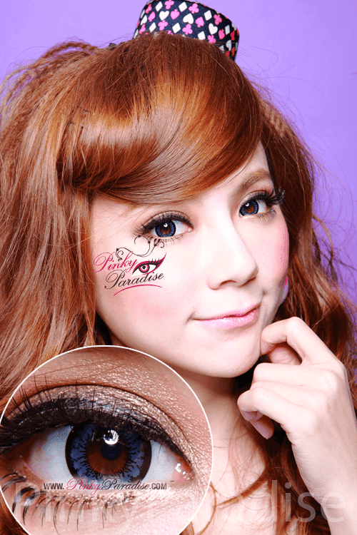 Geo Angel Blue Circle Lenses (Colored Contacts)