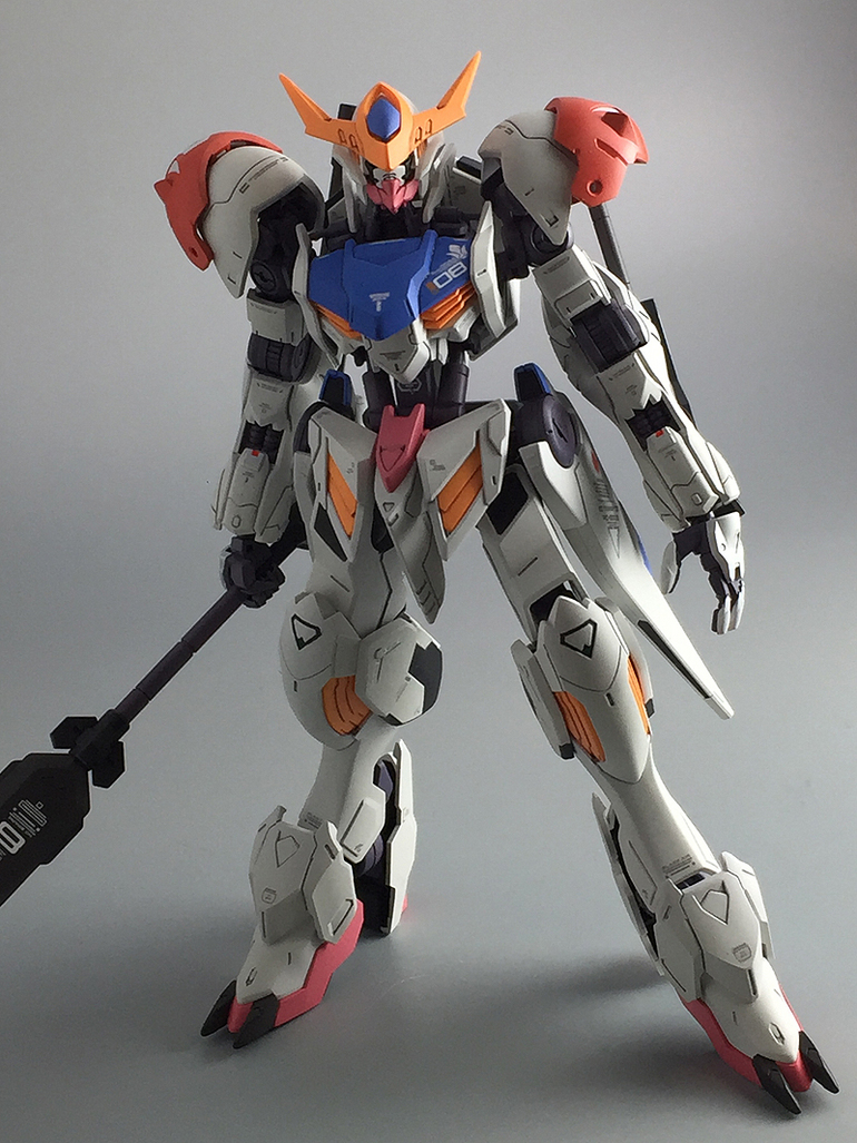 Painted Build: HG 1/144 Gundam Barbatos Lupus