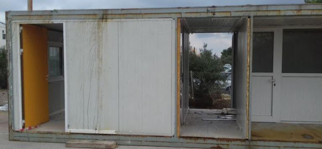 Δείτε τα κοντέινερ που έστειλαν ως βοήθεια στο Βενιζέλειο στην Κρήτη και τα κοντέινερ που δίνουν στους λάθρο