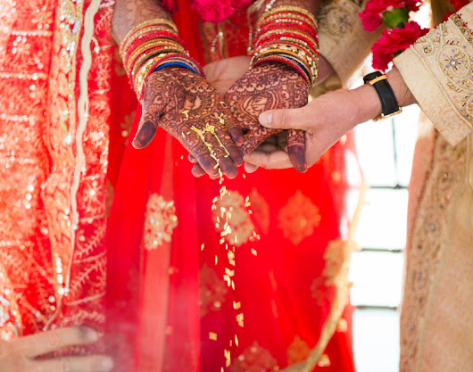 RED, AND GOLD MEHNDI CELEBRATION!!