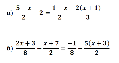 Ecuaciones De Primer Grado Trucos Y Ejercicios Resueltos