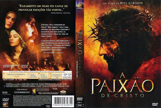 Capa DVD A Paixão de Cristo